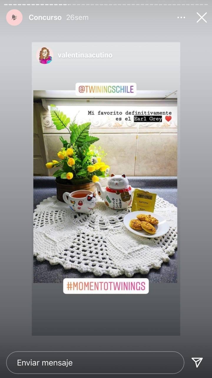 Campañas en Instagram creadas con contenido de usuarios: Twinings Chile con el concurso en que motivo a crear contenido