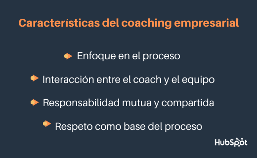 Características del coaching empresarial