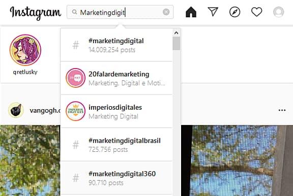 Cómo buscar hashtags populares para crecer en Instagram