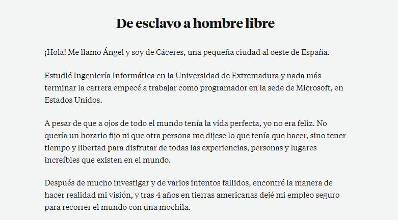 Cómo hacer una biografía: ejemplo de Ángel Alegre