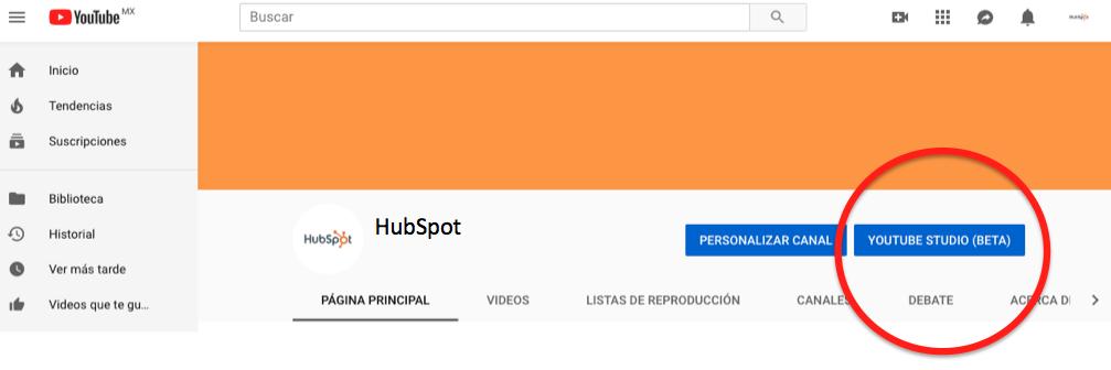 Cómo hacer un directo en YouTube: Studio