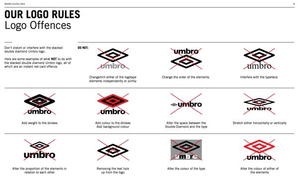 Cómo hacer manual de identidad corporativa: establece usos de logo
