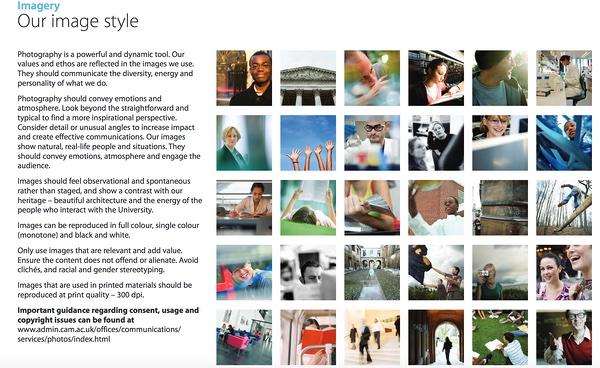 Cómo hacer manual de identidad corporativa: informa sobre el uso de imágenes