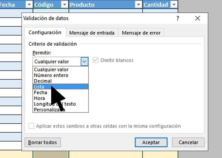Lista para cómo hacer inventario Excel con imágenes