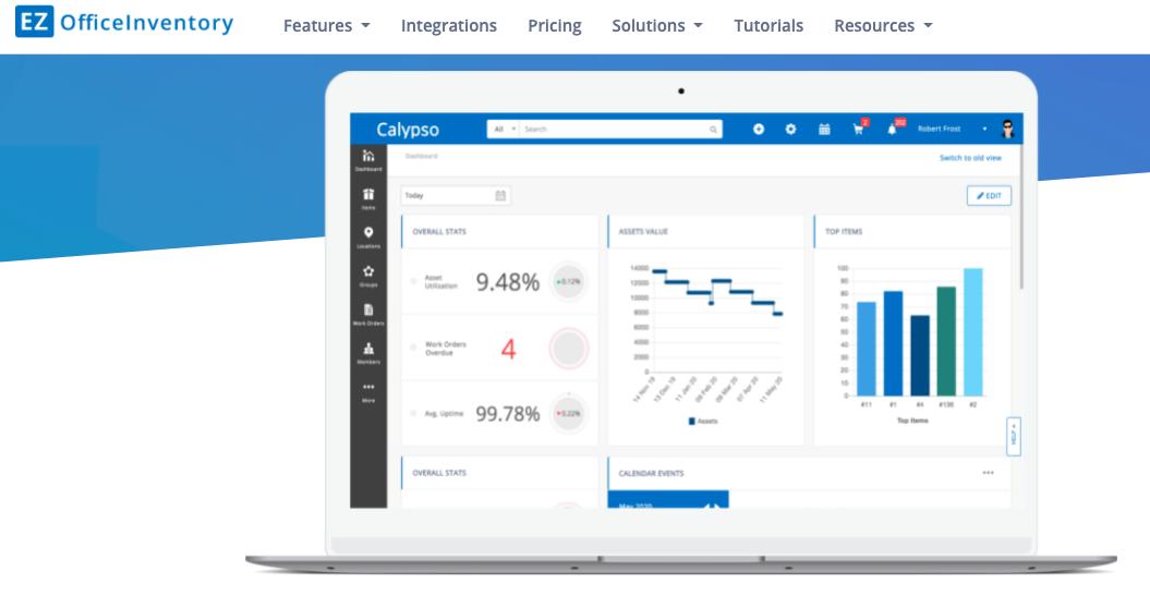 Software para gestión de inventario: EZ Office Inventory