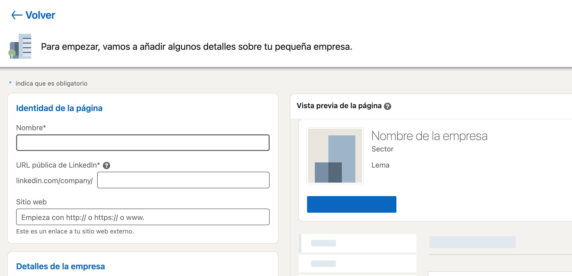 Cómo hacer un perfil de empresa en LinkedIn: agrega los datos relevantes de tu compañía