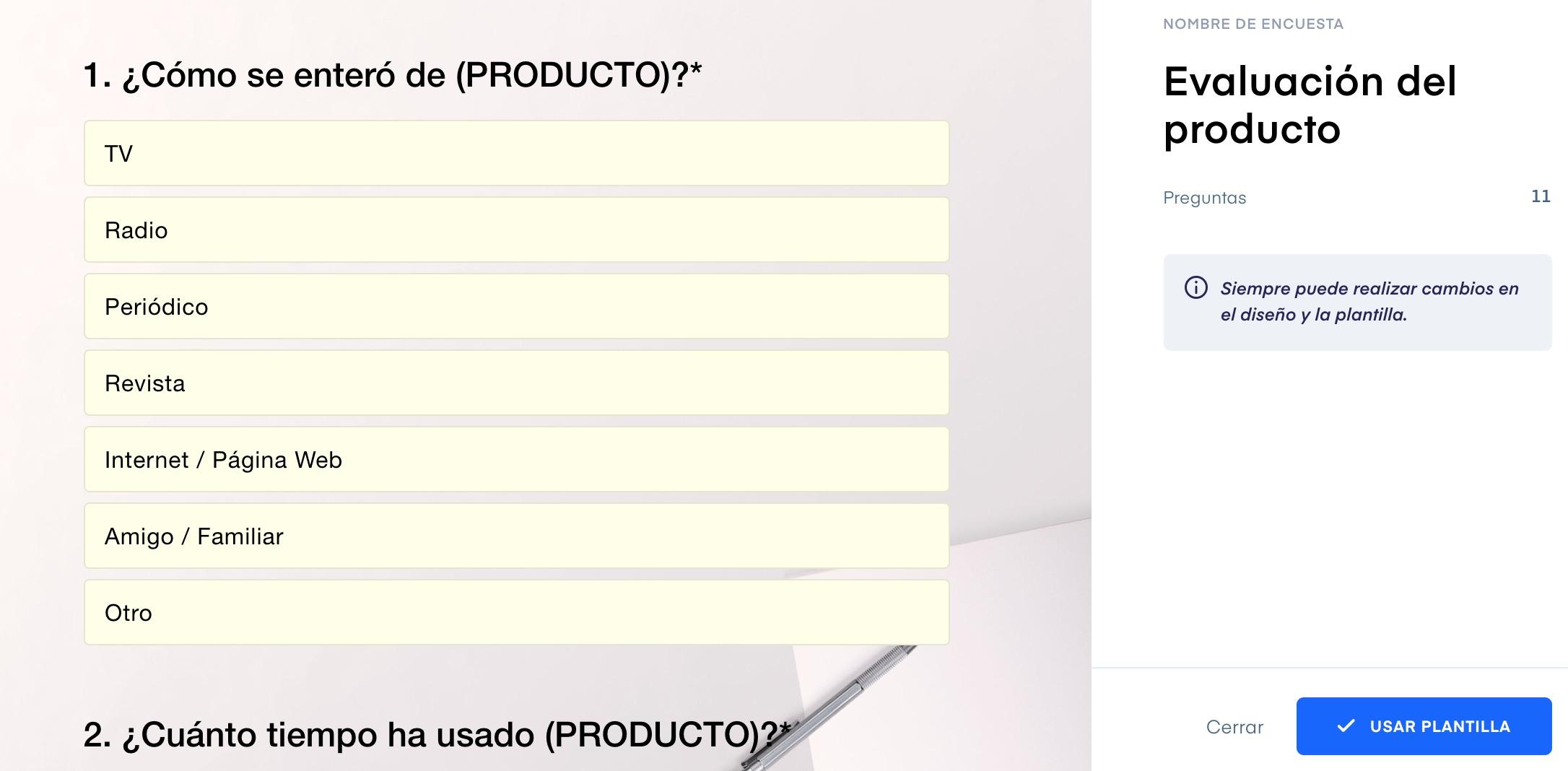 Survio, herramientas para hacer encuestas online