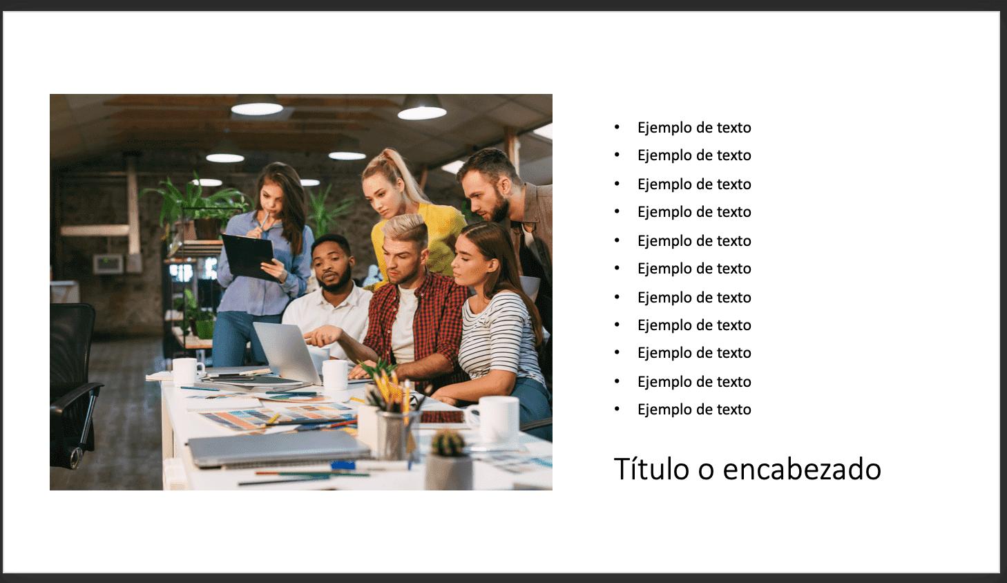 Cómo usar PowerPoint: ubicación de elementos