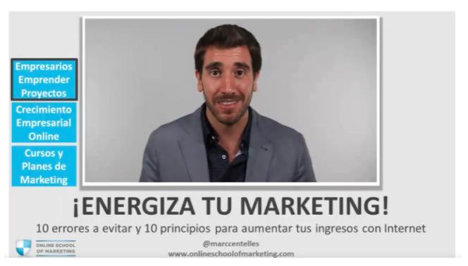 Curso de marketing digital: Marketing digital para crecer tu negocio de Marc Centelles