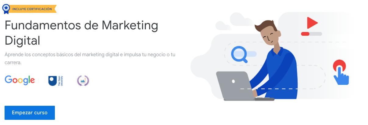 Curso de marketing digital: Fundamentos de Marketing Online