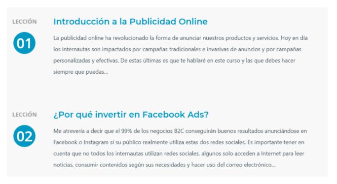 Curso de marketing digital: Curso básico de Facebook e Instagram Ads de Vilma Núñez