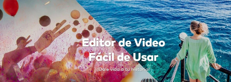 Editor de video para YouTube: Filmora