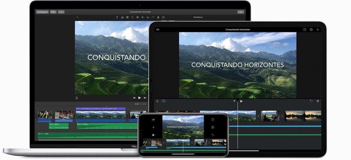 Editor de video para YouTube: iMovie