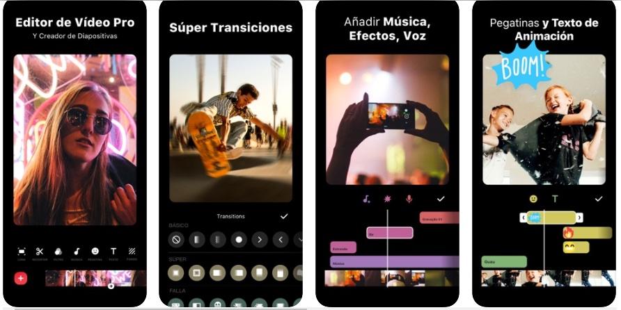 Editor de video para YouTube: app InShot