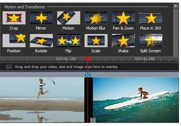 Editor de videos para YouTube: Videopad