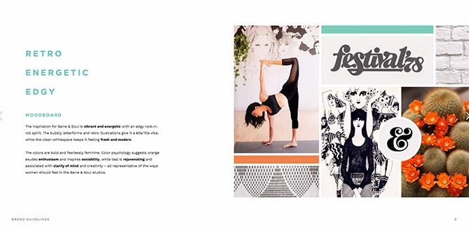 Ejemplo de manual de identidad corporativa: Barre & Soul