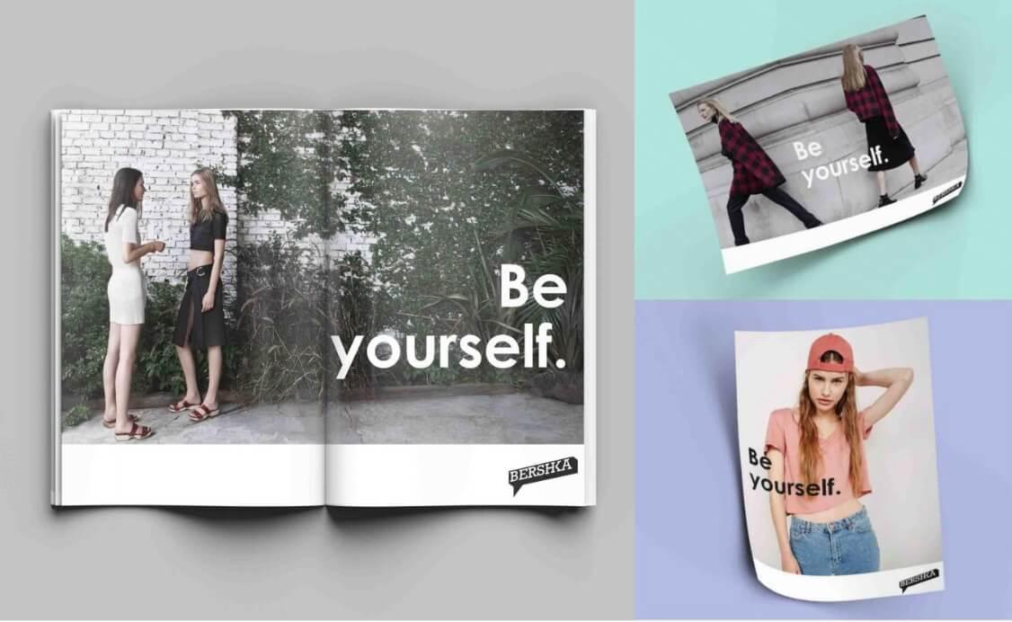 Ejemplo de brand book: Bershka