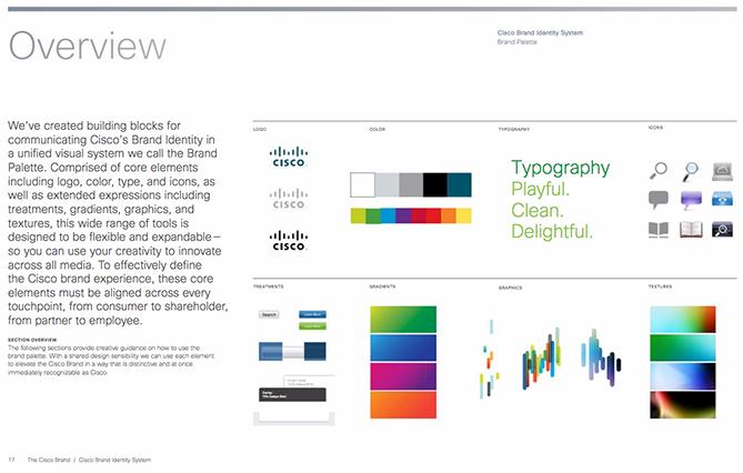 Ejemplo de manual de identidad corporativa: Cisco