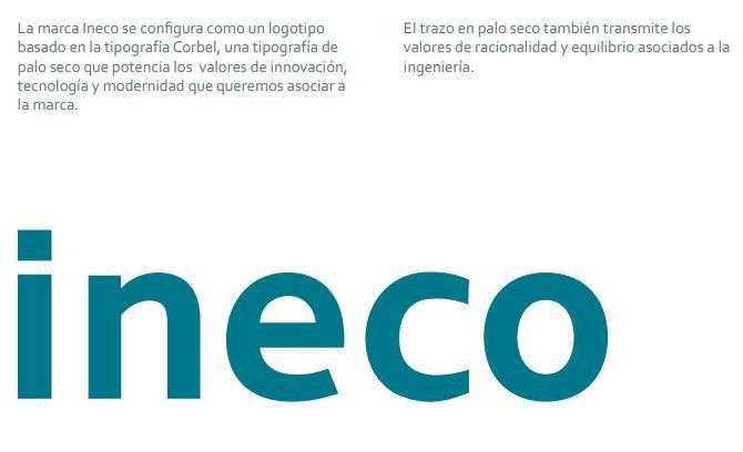 Ejemplo de brand book: Ineco