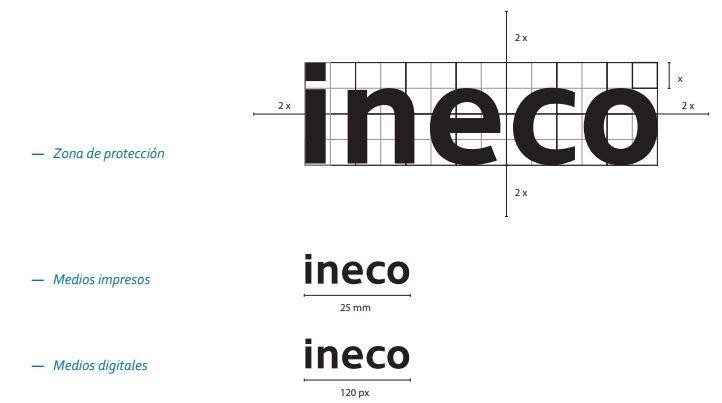 Ejemplo de manual de identidad corporativa: Ineco