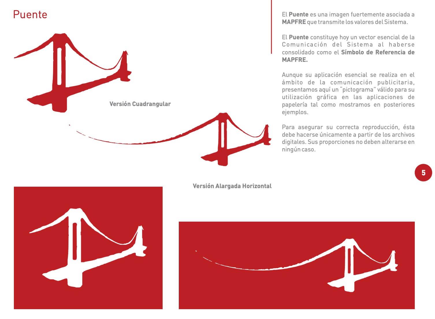 Ejemplo de manual de identidad corporativa: Mapfre