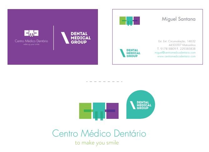 Ejemplo de manual de identidad corporativa: Dental Medical Group
