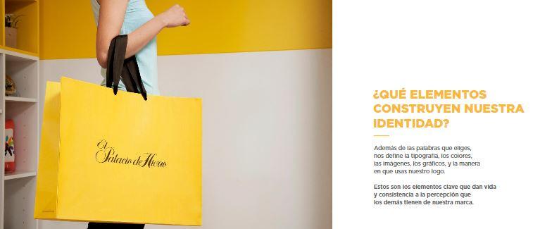 Ejemplo de manual de identidad corporativa: Palacio de Hierro