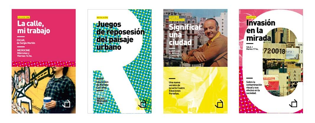 Ejemplo de manual de identidad corporativa: Espacio Cultura Recoleta