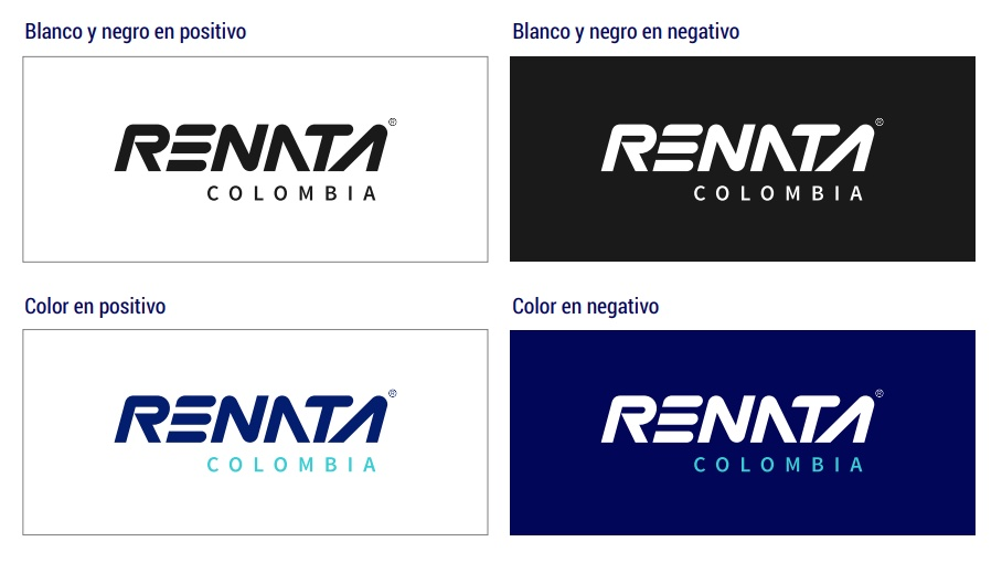 Ejemplo de manual de identidad corporativa: Renata