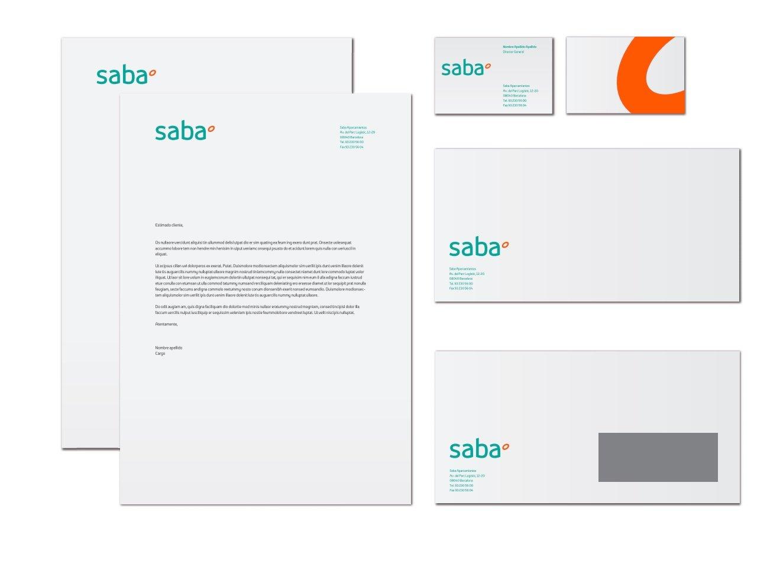 Ejemplo de brand book: Saba