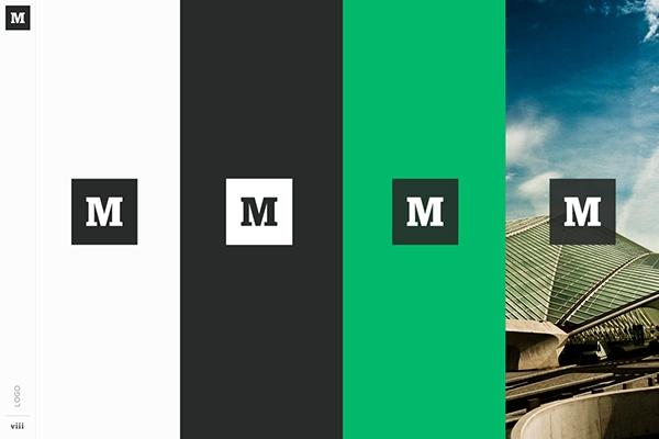 Ejemplo de manual de identidad corporativa: Medium
