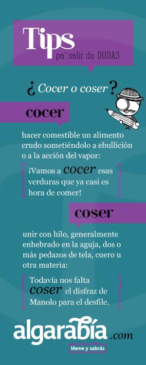 Ejemplo de infografía sobre ortografía