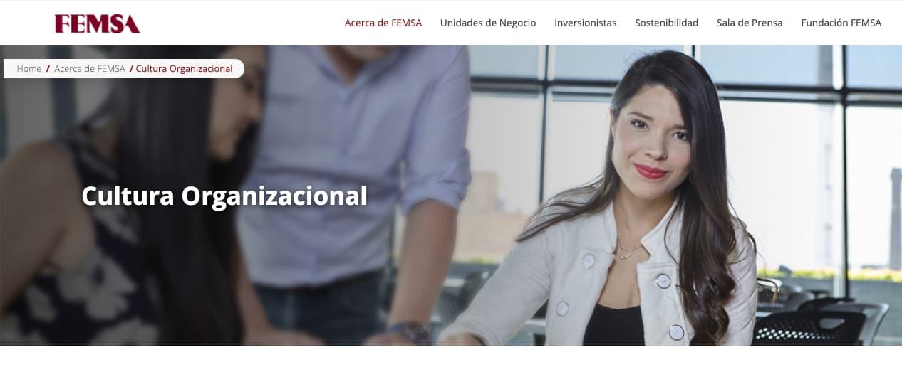 Ejemplo de objetivos de una empresa: Femsa
