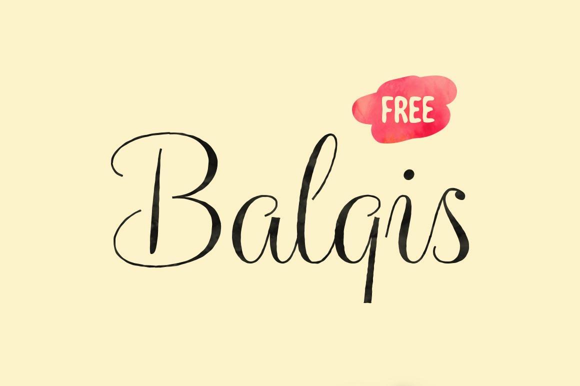 Tipografía elegante gratis para logos: Balgis