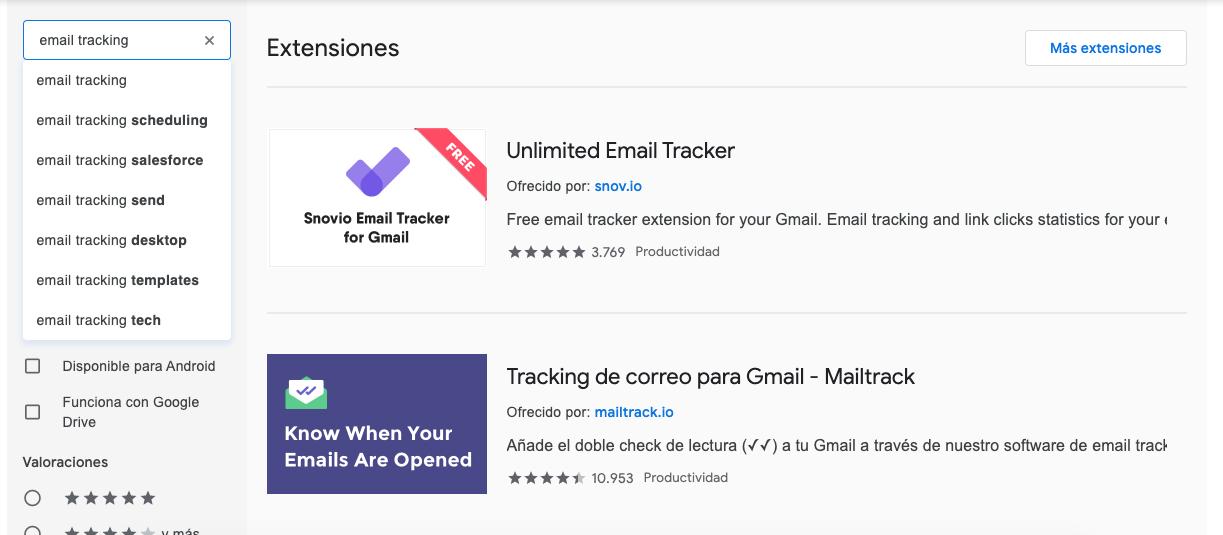 Cómo saber si han leído tu correo: busca extensiones de email tracking