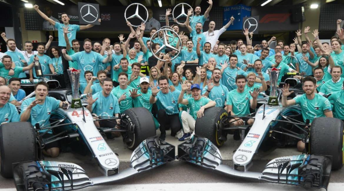 Equipo de Mercedes Benz F1