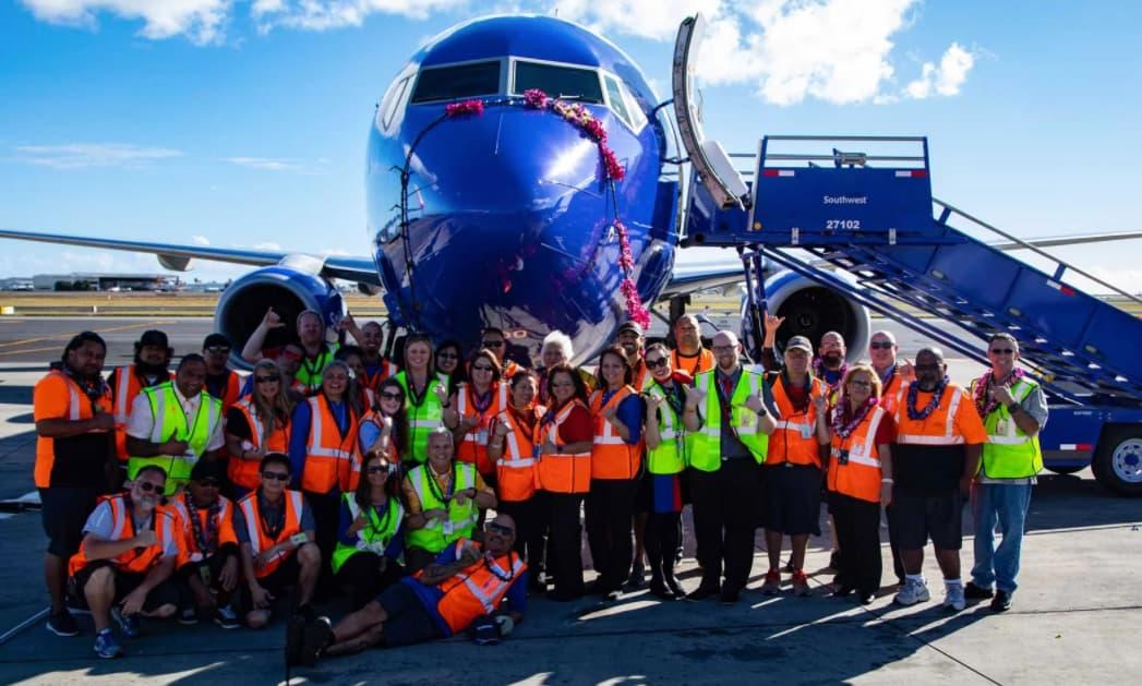 Equipo de Southwest Airlines