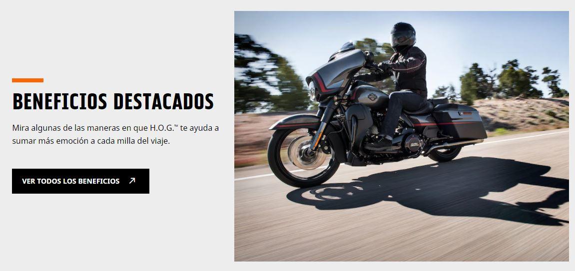 Ejemplo de estrategia de branding de Harley Davidson