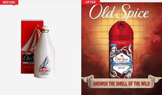 Ejemplo de estrategia de branding de Old Spice