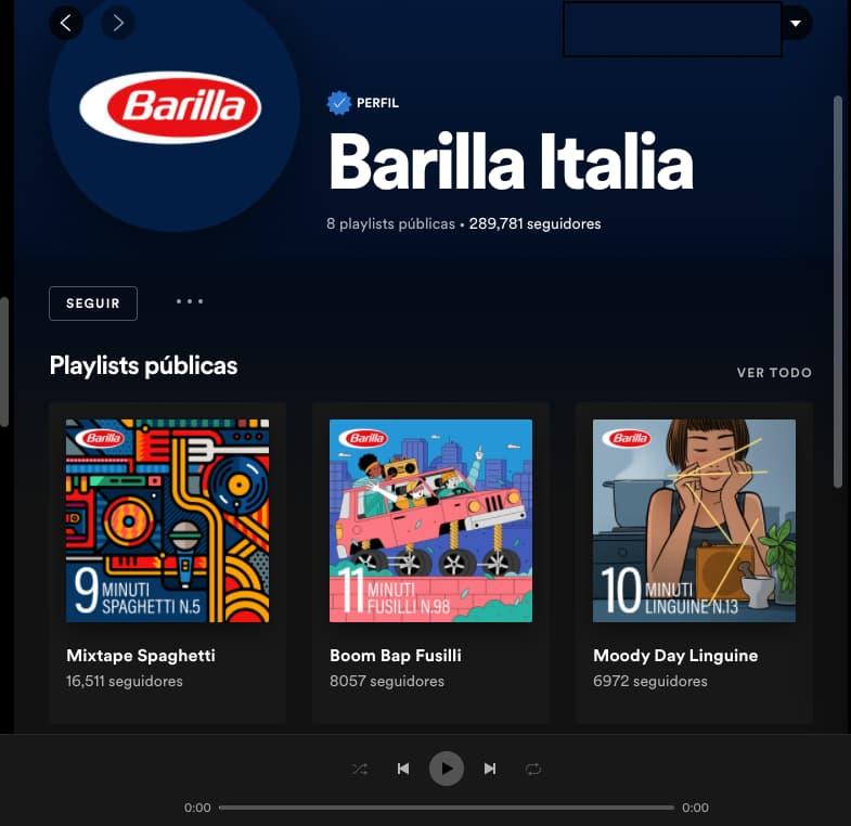 Ejemplo de estrategia de marketing de Barilla