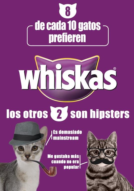 Ejemplo de estrategia de publicidad comparativa: Whiskas