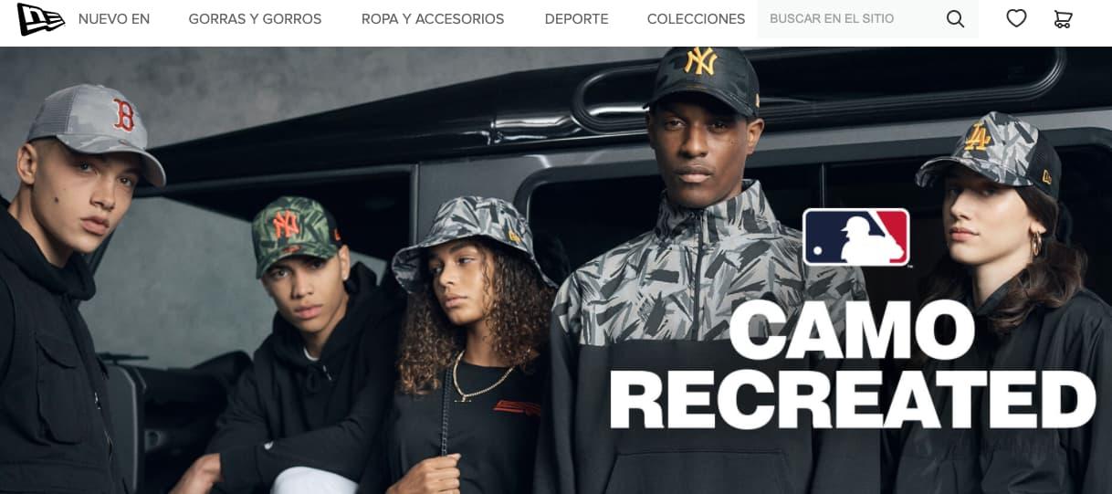 Ejemplo de empresa internacional de New Era Cap Company
