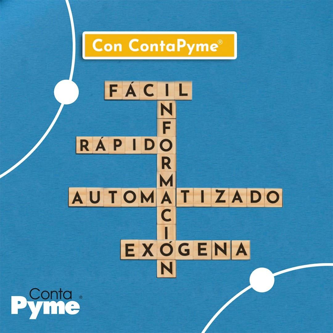 Ejemplo de publicidad informativa: ContaPyme