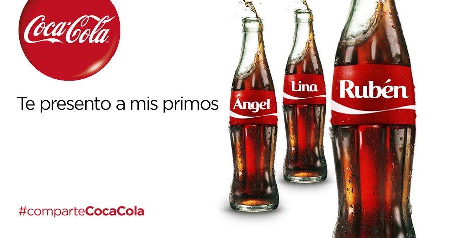 Ejemplo de estrategia publicitaria Pull,  Coca Cola