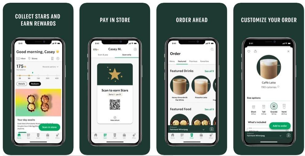 Estrategias de retención de clientes: app de Starbucks