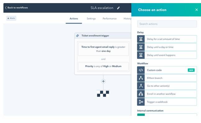 Automatización de workflow de operaciones
