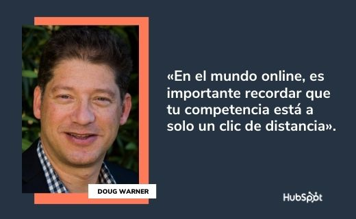 Frases célebres de servicio al cliente: Doug Warner