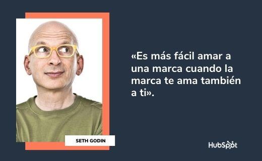 Frases célebres de servicio al cliente: Seth Godin