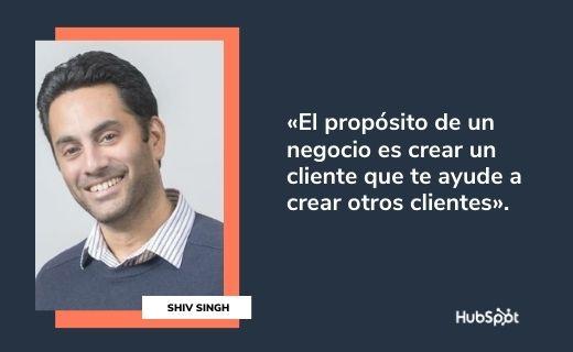 Frases célebres de servicio al cliente: Shiv Singh