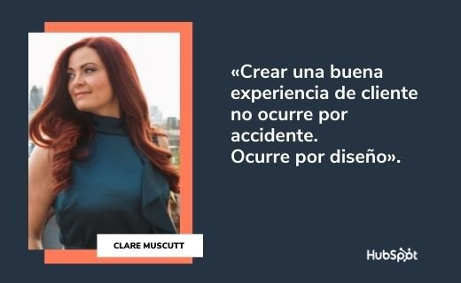 Frases célebres de servicio al cliente: Clare Muscutt